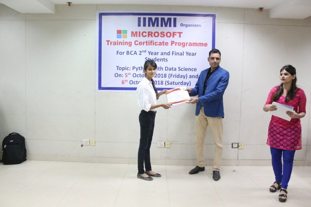 Microsoft Workshop for BCA/BBA